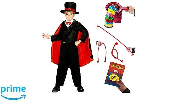 Magicians Costume With 3 Magic Tricks