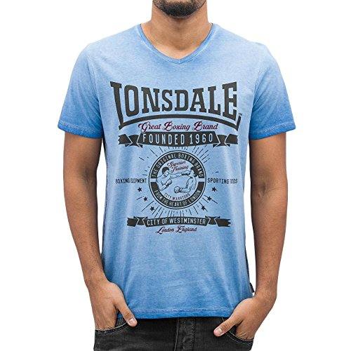 Lonsdale London Uomo Maglieria / T-shirt Peebles
