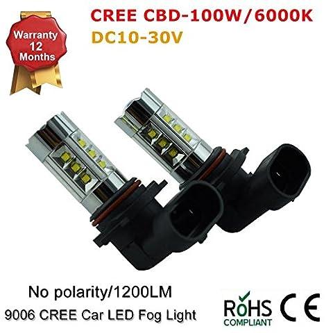 HB39005100W Car Truck LED Cree Vidéoprojecteur ampoules Blanc DRL pour Subaru Impreza WRX (lot de 2)