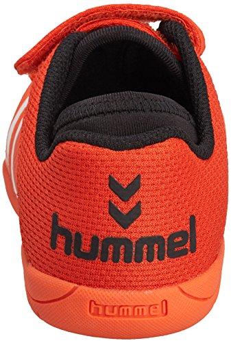 hummel HUMMEL ROOT PLAY Unisex-Kinder Hallenschuhe Orange (Cherry Tomato 5086)