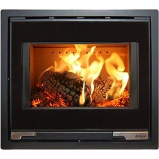 Aduro 5.1 Fireplace Insert Wood Burning Stove 7 kW Black