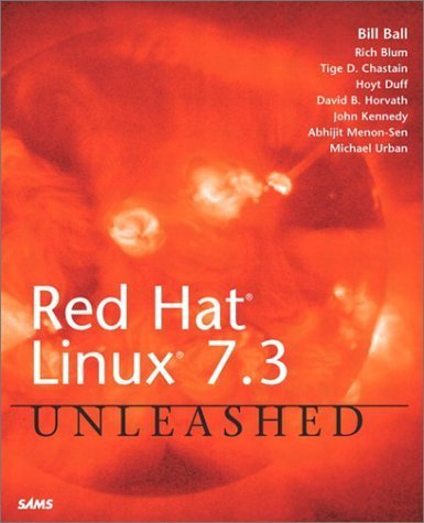 Red Hat Linux 7.2 Unleashed by Ball, Bill (2001) Paperback