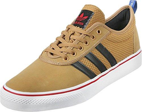 Adidas Adi-Ease–Chaussures Sportives pour Hommes, Noir–(negbas/Ftwbla/negbas) 471/3 mesa-core black-scarlet