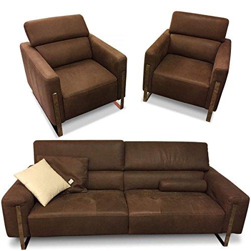 Contur Garnitur 9400 (3-Sitzer, Sessel, Sessel) Ausstellungsstück