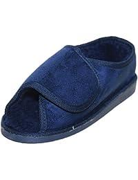 Surf 4 Shoes - Zapatillas de estar por casa de sintético para hombre azul azul