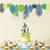 Alexsix Paper Decoration Wall Hanging Plant Flamingos Tropical Kreativ für Das Fenster der Party im Aula 01