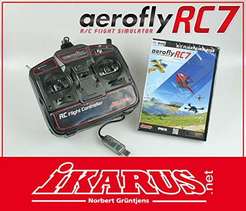 aerofly RC7 Ultimate DVD mit USB-Commander -