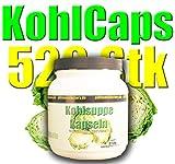 Kohlsuppenkapseln Kohl-Diät 600mg 520 Stk (0,03 Euro/Kapseln)