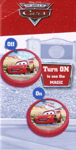 Image of Disney Disney Pixar Cars Magic Push Light - LIGHTNING MCQUEEN The World of Cars