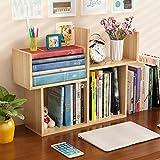 Bücherregale HUO Kleine Einfache Tabelle Mini Student Kinder Schreibtisch Lagerung Lagerung Rack-51 * 17 cm (Farbe : Log)