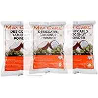 Max Care Desiccated Coconut Powder 600 gm (Pack of 3-200gm Each)