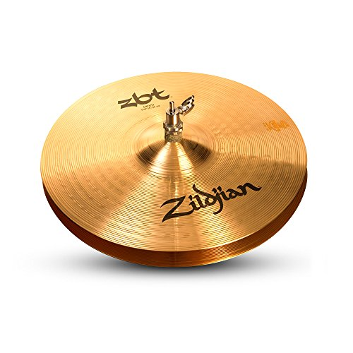 ZILDJIAN ZBT14HP 35,6 cm (14 Zoll) Hats, Medium-Thin Top/Bottom, Traditional Finish (Paar)