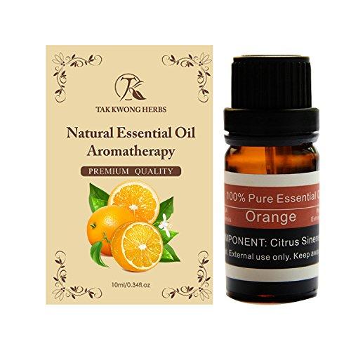 TKH 100% puro olio essenziale di arancia profumo naturale terapeutica estratti di frutta 10 ml olio aria purificata