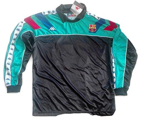 Camiseta Barça FCB Kappa Vintage con protección Verde Talla L