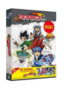 Beyblade Metal Master Saison 2 vol 1 coffret 3 DVD