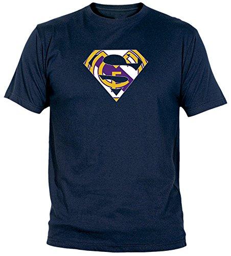 Camiseta Supermán Madridista Adulto/niño Camisetas