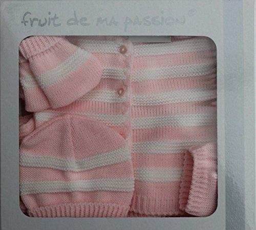Cofanetto nascita bambino, da 0 a 3 mesi, 4 pezzi, idea regalo per nascita CN4P-RsBcRy NISSANOU