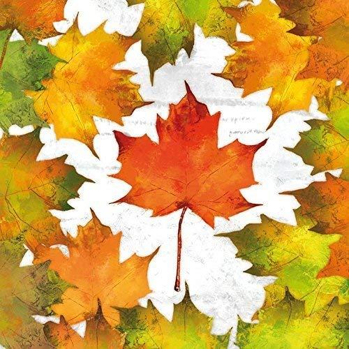 automne fall FEUILLE FEUILLES 3-ply 20 Papier Serviettes de table 13x13 \