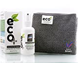 Ecomoist Natural Screen Cleaner 100ml with Fine Microfiber...