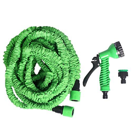 Andux flexi Schlauch Wasserschlauch-flexibler Gartenschlauch (22.5m ausgedehnt)