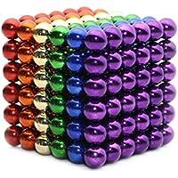 OBEST NIU Puzzle de Bolas Magneticas de Neodimio, Puzle de Bolas de 216 Bolas Magnéticas 5mm (Color) - Peluches y Puzzles precios baratos