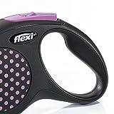 Trixie Flexi DESIGN Gurt Hundeleine (5m) (Pink)