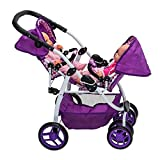 Baby Doll Tandem Stroller Pushchair