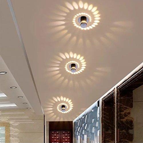 Deckenlampe Innen Flur Schlafzimmer Wohnzimmer Badezimmer Treppen Korridor Bad Lampe Deckenleuchte Deckenstrahler Warmweiß -