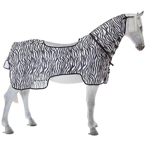 BUSSE Ausreitdecke MONTANA ZEBRA II Rückenlänge 115 cm, zebra