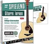 Spielend Gitarre Lernen: Die neue Anfänger-Gitarrenschule mit DVD (4. überarbeitete Auflage)