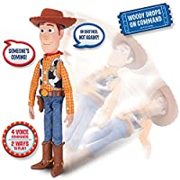 Toy Story 4 -Sheriff Woody Special Feature with interactive drop down action