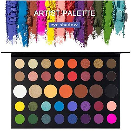 39 Farben Eyeshadow Lidschatten-Palette Makeup Kit Set Make Up Professional Box, Shimmers and Matte Nudes Ultra Eyeshadows Flawless Palette