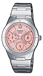 CASIO Collection LTP-2069D-4AVEF de cuarzo, correa de acero inoxidable