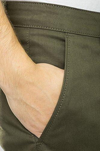 REELL Pant Straight Flex Chino Artikel-Nr.1110-005 - 01-039 PC Olive