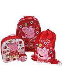 Peppa Pig Tropical Paradise - Mochila escolar Peppa pig (Trade Mark Collections PEPPA001249)