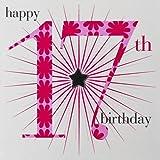 Claire Giles Alter Alter von 17, Mädchen Geburtstag Karte