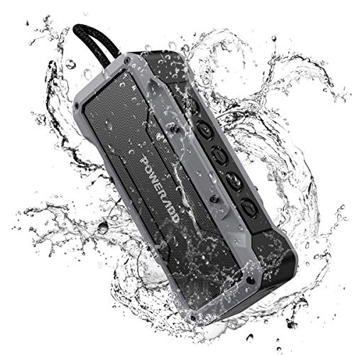 POWERADD Bluetooth Lautsprecher mit 4 StereoTreibern (2X13W+2x5W)