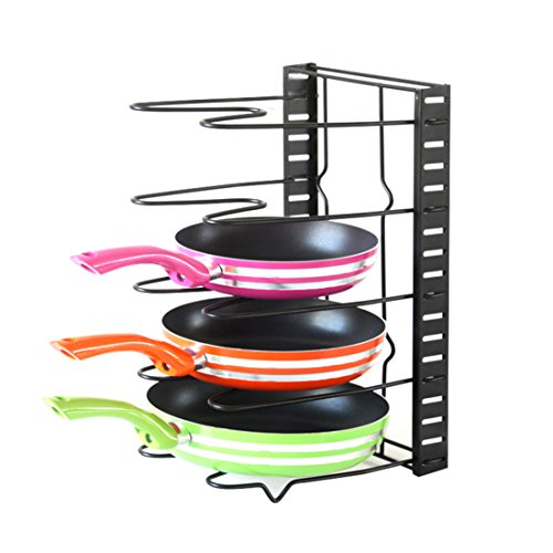 kuanguang-height-adjustable-kitchen-pan-holder-rack-pot-lid-organizer-standing-storage-shelf-cookwar