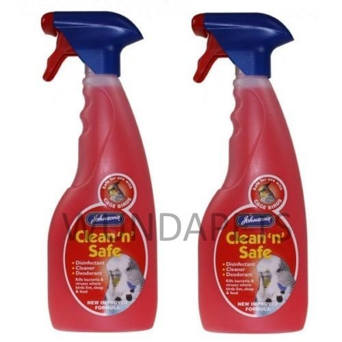 johnsons-clean-n-safe-cage-bird-budgie-parrot-disinfectant-cleaner-2-pack