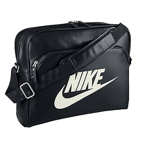 Nike Heritage SI Track Bag Tasche, Größe:One Size;Farbe:Schwarz
