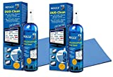 ROGGE DUO-Clean Original DoppelSet, 2 x 250ml LCD - TFT - LED - TV - Touch Displays + Plasma Screen Cleaner + 2x ROGGE Prof. Microfasertücher 38x40cm. The Original since 1998. Made in GERMANY