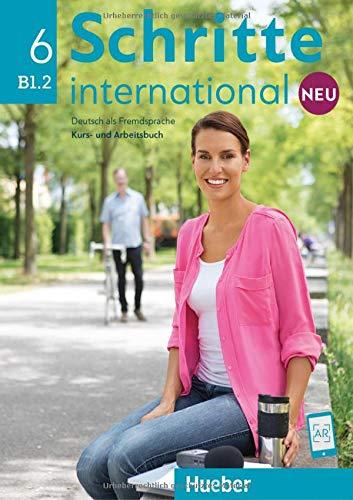 Schritte international. Kursbuch-Arbeitsbuch. Per le Scuole superiori. Con e-book. Con espansione online: SCHRITTE INT.NEU 6 KB+AB+CD-Audio