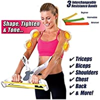 Armure Fitness Equipment Poignées Muscle Worker Matériel ABS + gymnase usage domestique silicone blanc