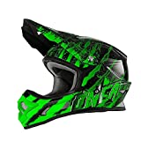 Casco Mx Oneal 2017 3Series Mercury Nero-Verde (L , Verde)