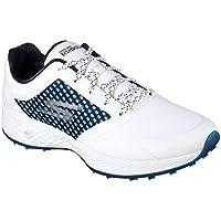 Skechers 2018Go Golf Eagle plomo para mujer sin tacos zapatos 14864, mujer, blanco y azul marino, 5 UK/ EUR 38 / US 8