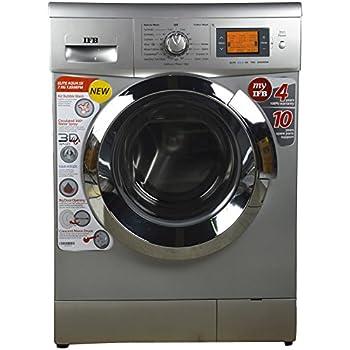 IFB 7 kg Fully-Automatic Front Loading Washing Machine (Elite Aqua SX , Silver)