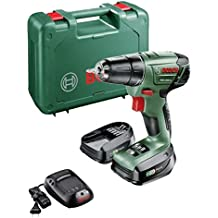 Bosch PSR 1440 LI Negro, Verde, Rojo - Taladro (Taladro recto, perforacion, Desatornillar, Negro, Verde, Rojo, 8 mm, 2,5 cm, 8 mm)