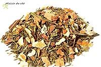 Thé, Le plaisir d'Automne, thé vert parfumé pommes grillées cannelle, 100g