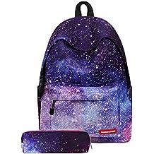 TTD Galaxy patrón niños niñas chicos escuela Mochila bolsa liviana-peso para senderismo viajes camping