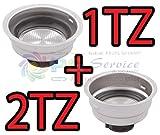 DeLonghi Filter Creme Waffeln 1Tasse + 2Tassen Staub Icona EC150EC410ECO310